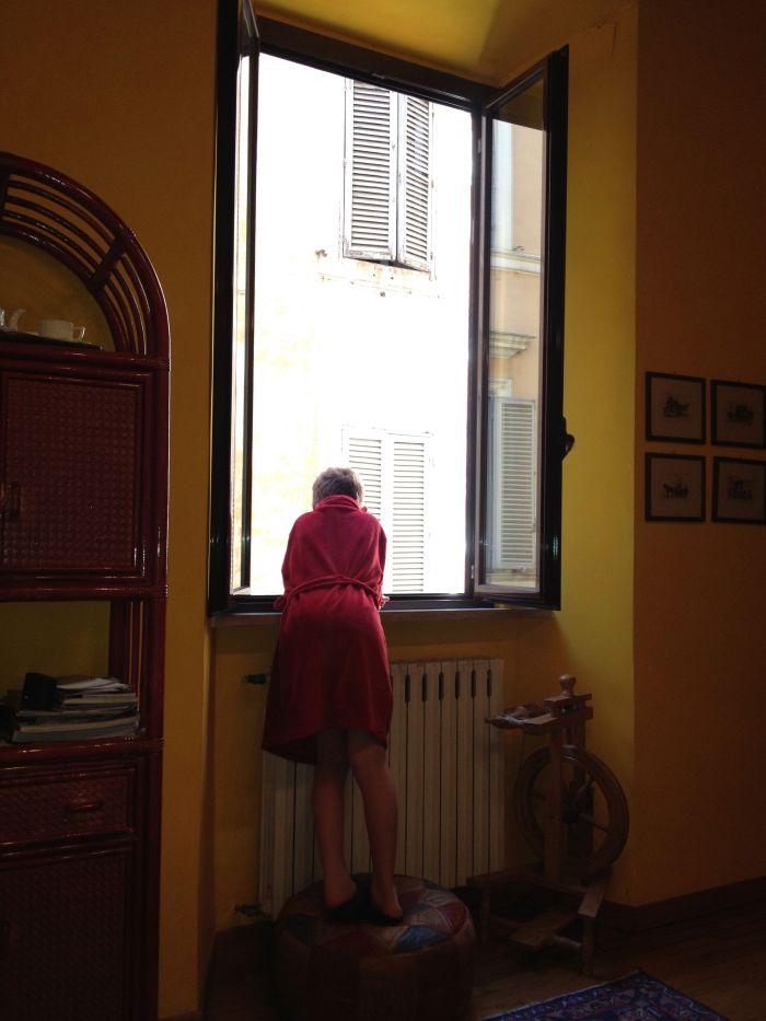 Ben at Window